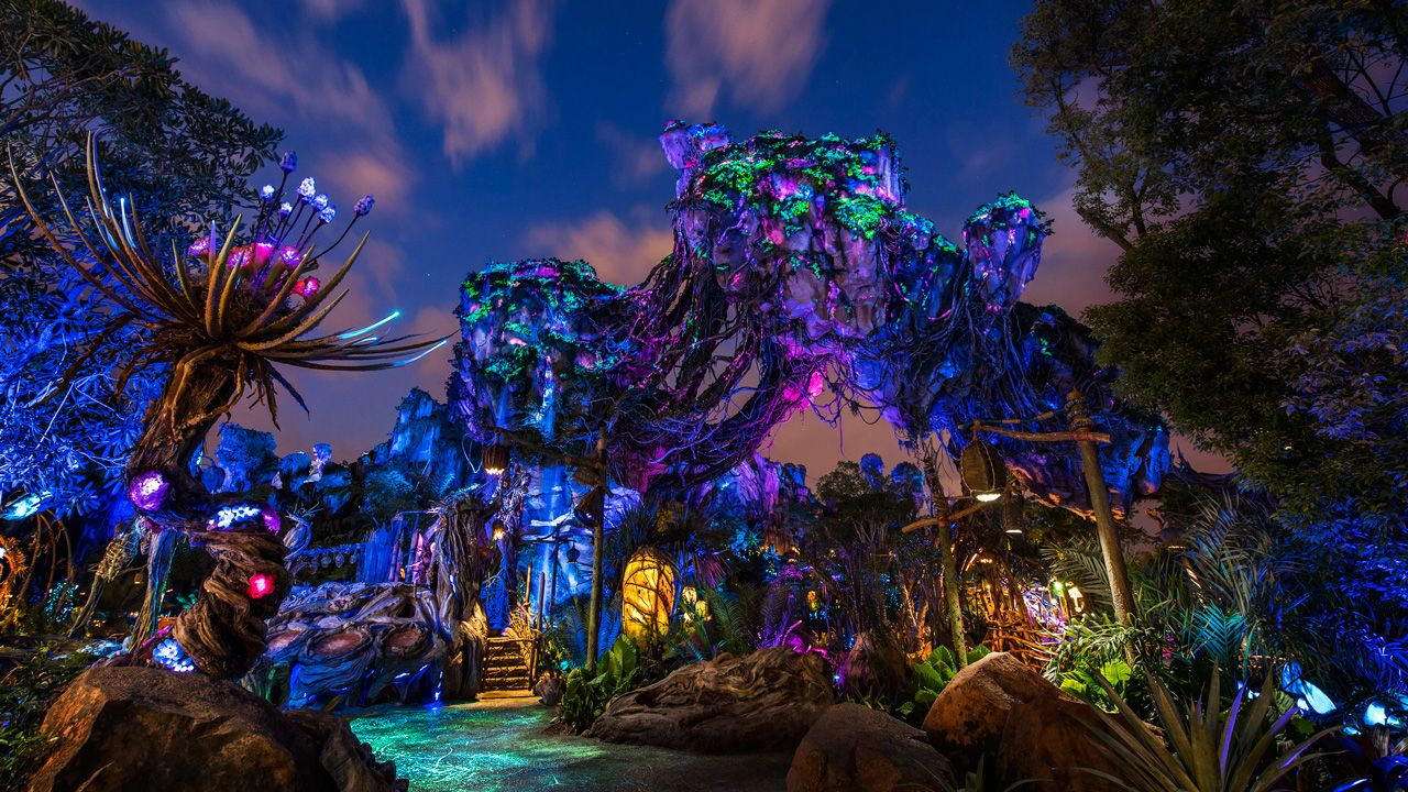 Disney Parks After Dark Pandora The World of Avatar