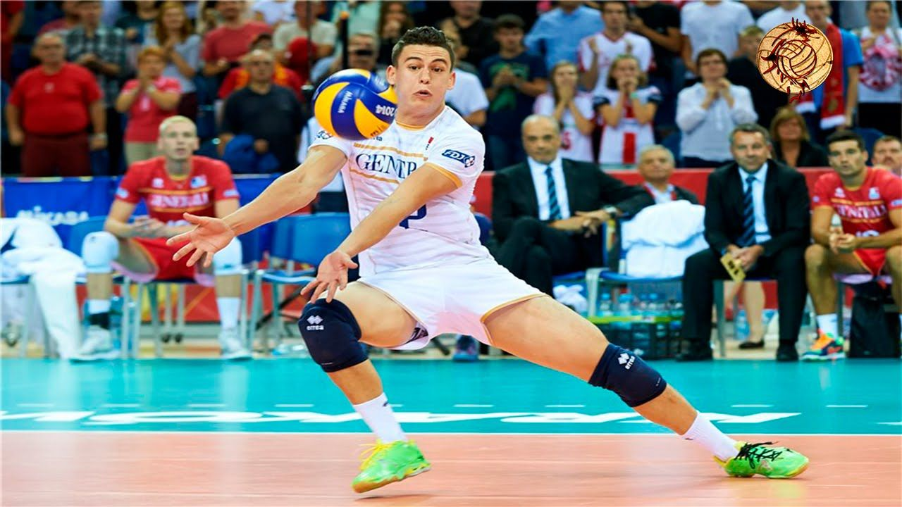 The Best Libero In The World Jenia Grebennikov Professional Volleyball Players Volleyball Mens Volleyball