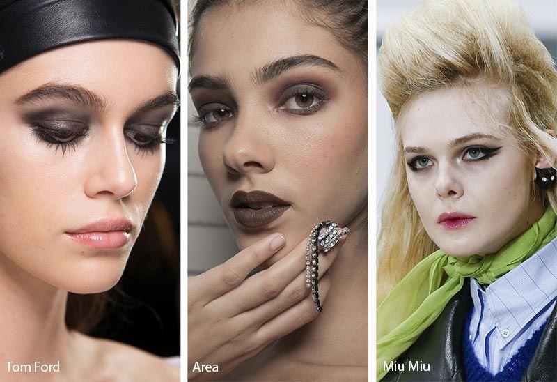 Fall Winter 2018 2019 Makeup Trends Makeup Trends Smokey Eye Makeup Eye Makeup