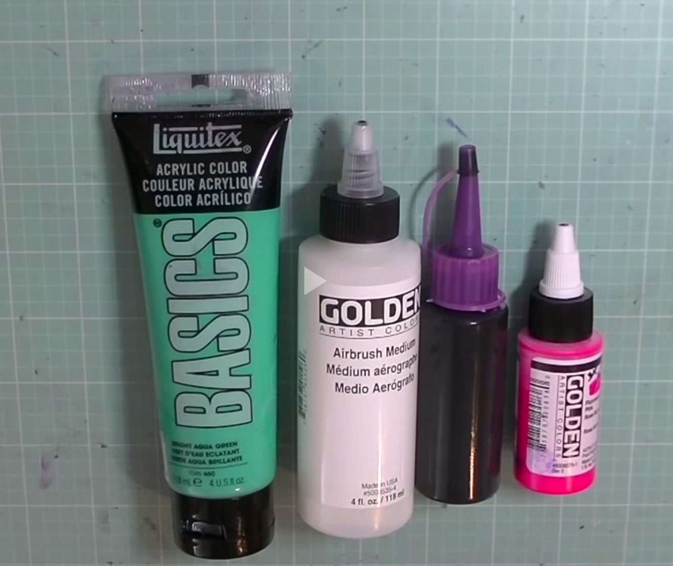 Does Acrylic Craft Paint Work In An Airbrush