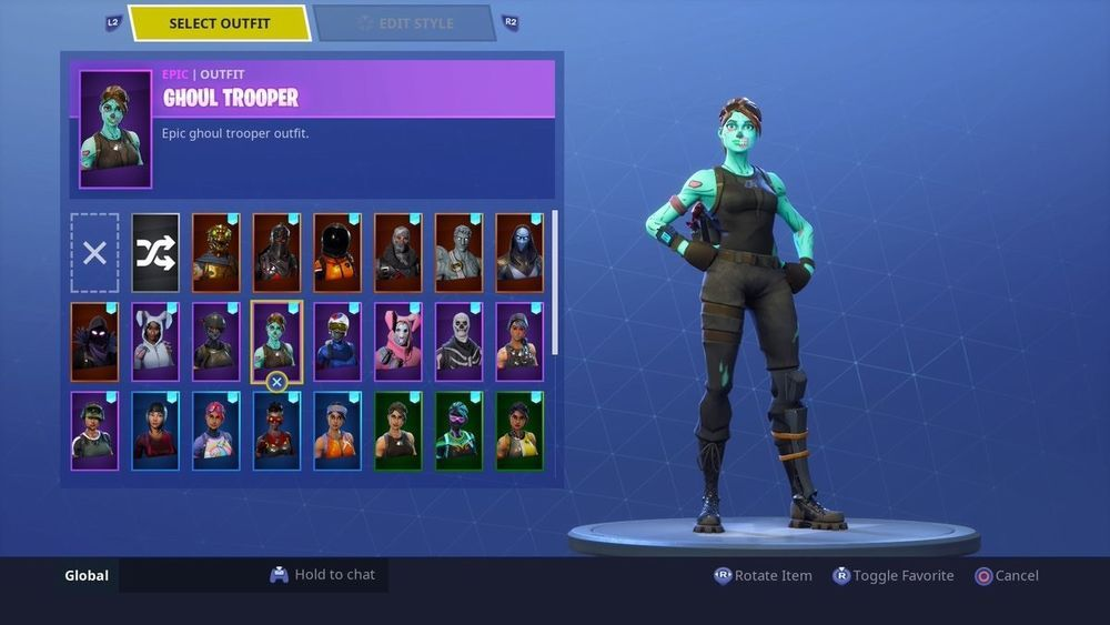 Fortnite account cheap for limited time ghoul trooper