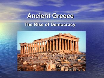 The seeds of democracy in ancient greece