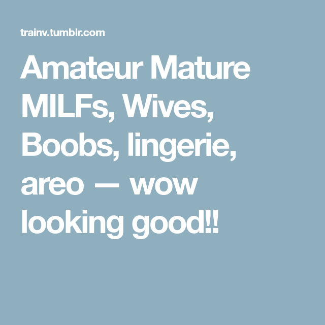 ameture-mature-wives