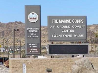 29 palms marine base location
