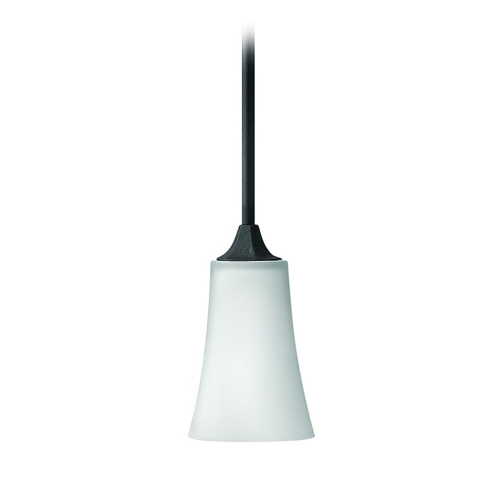Hinkley Lighting Mini-Pendant Light with White Glass ...