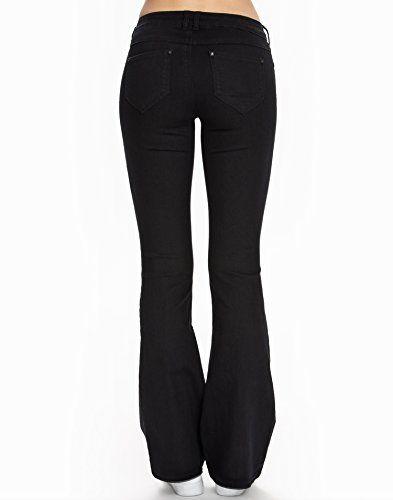 16dcae8c469b Only - Flared Regular Derry Jeans - Femme Pour en savoir + suivez ce lien