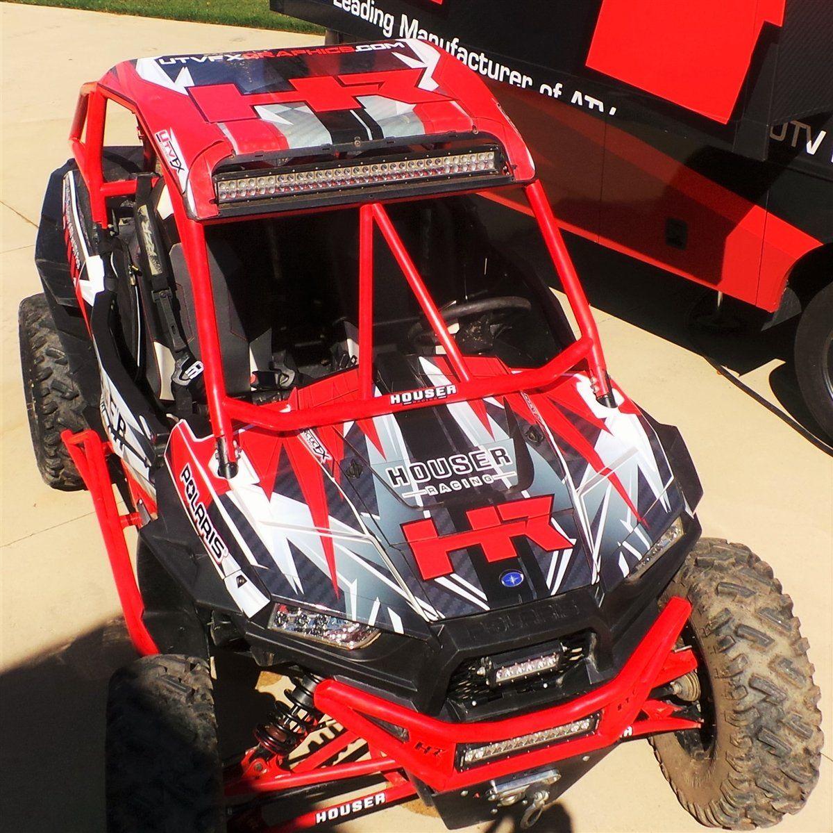 Houser Racing Polaris Razor UTV Graphics Kit for Houser Roll Cage