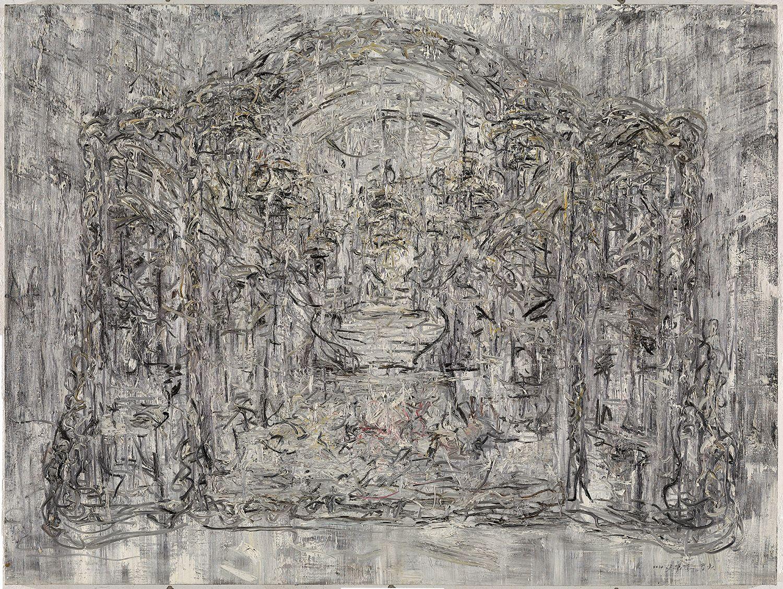 Zhang Zhenxue 张振学, Mirror 镜, Oil on canvas 布面油彩, 150x200cm