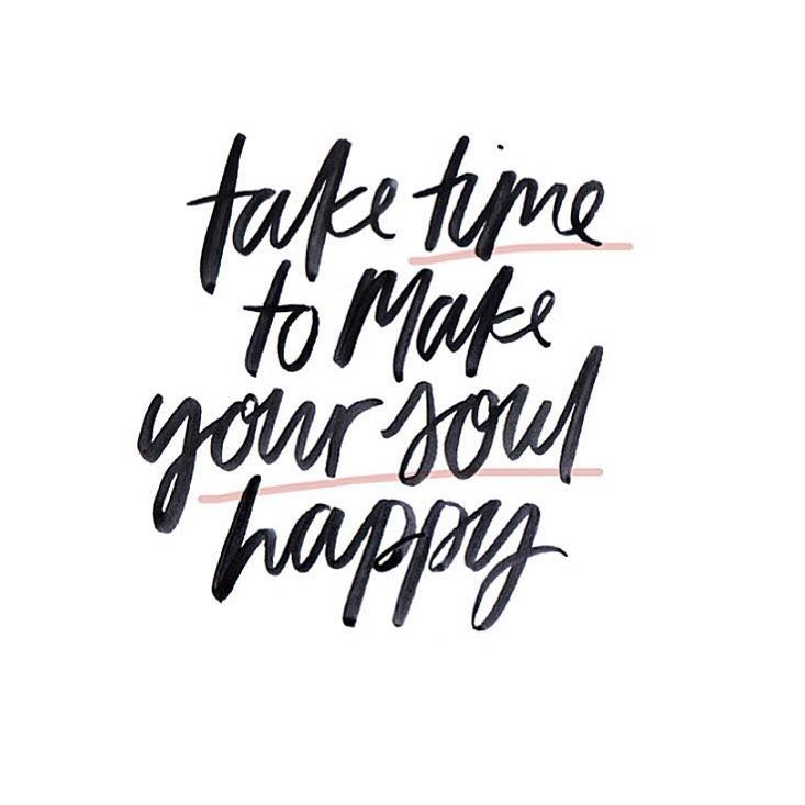 Take time to make your soul happy | The Red Fairy Project