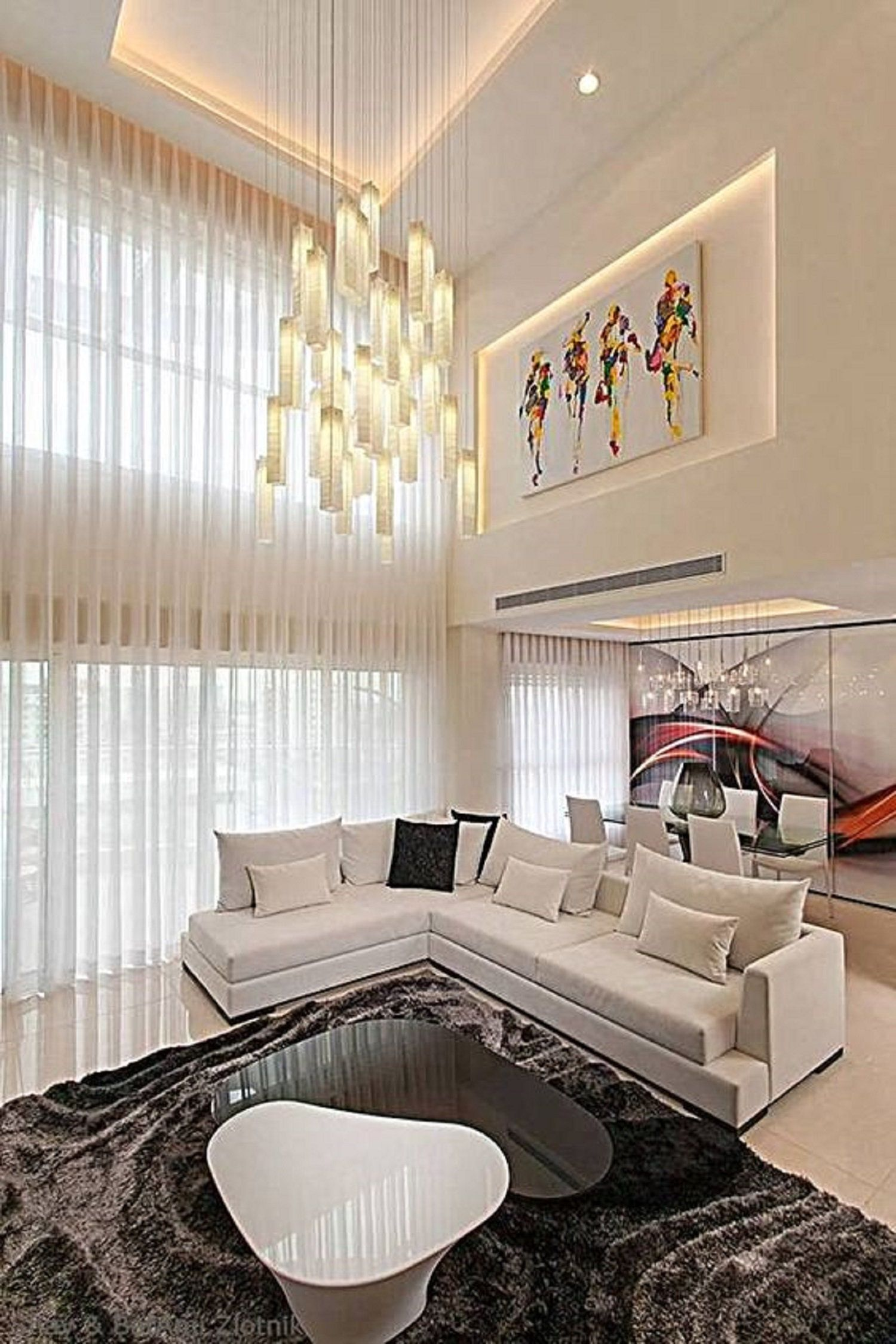 Contemporary Light Fixture For Living Room Large Chandelier