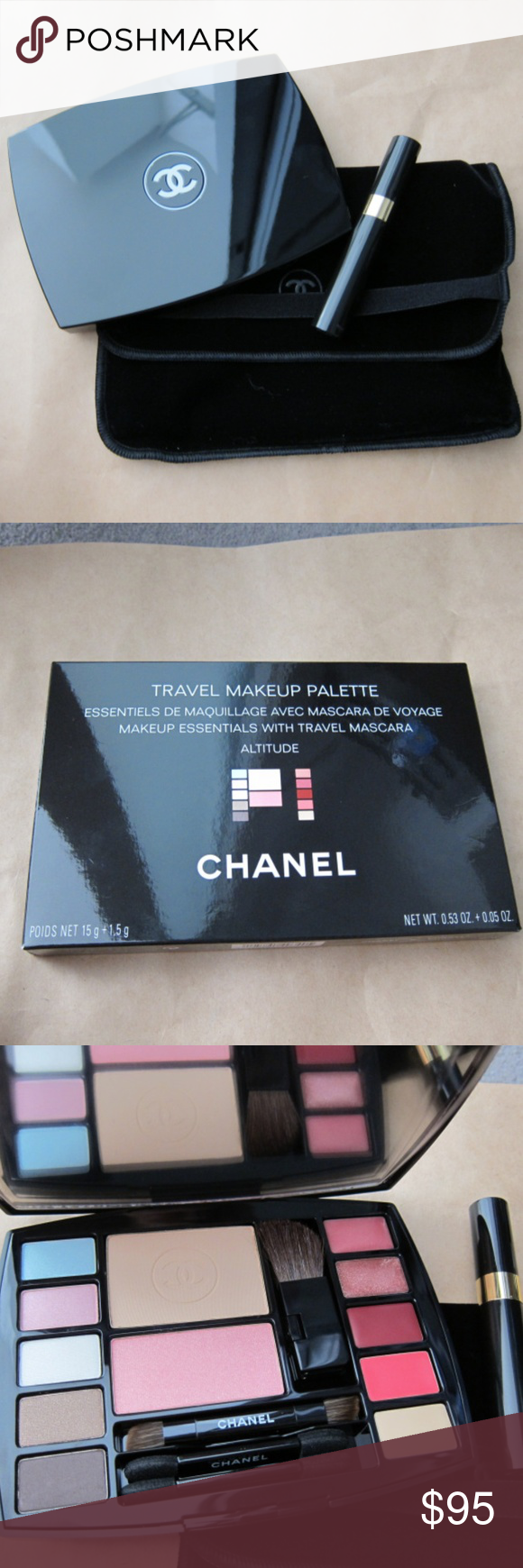 NEW* CHANEL Travel Makeup Palette 'Altitude' NWT Travel