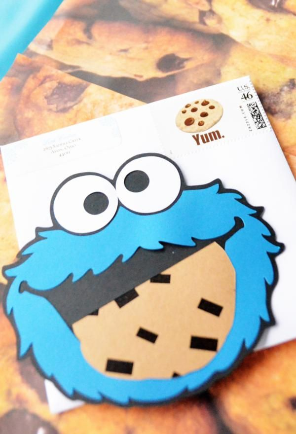 Chic Girl Blue DIY Cookie Monster Birthday Party Planning Ideas ...