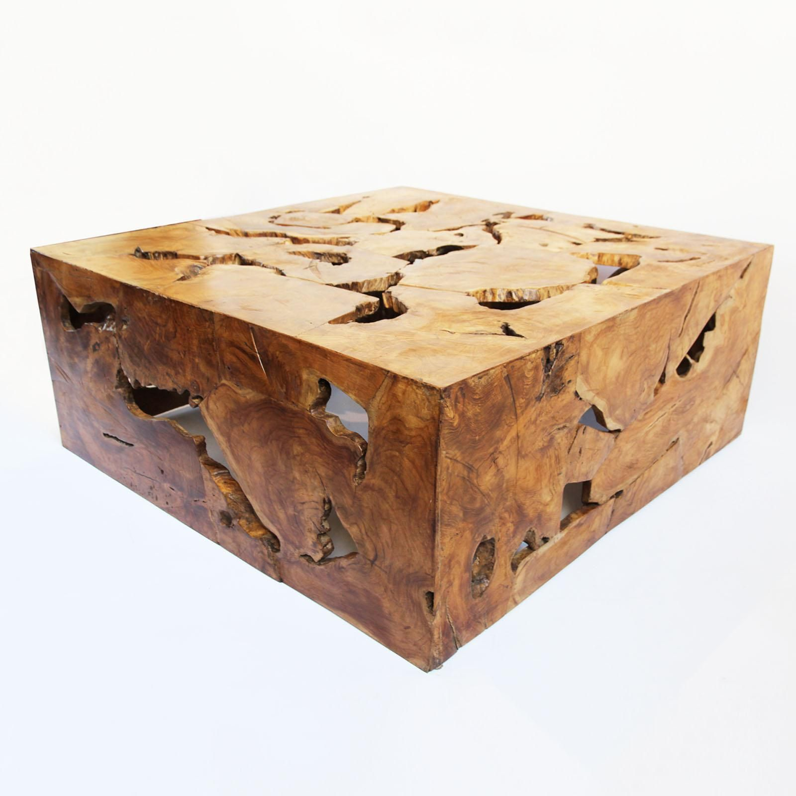 Teak Root Organic Coffee Table | Table, Table furniture ...