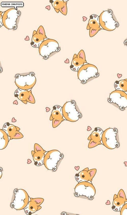 Pin By Espaciocreativo On Patterns Corgi Wallpaper Corgi Wallpaper Iphone Dog Wallpaper Iphone Awesome cute dog wallpaper for iphone 6