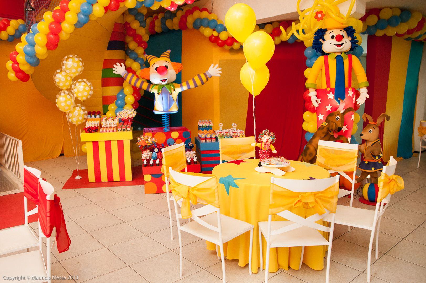 Festa Tema Circo 14 Decoracao Festa Infantil Festa Tema Circo