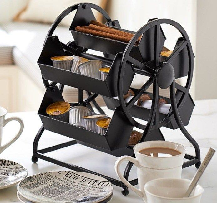 Take your coffee pods for a spin in this adorable ferris wheel designed to perk up your mornings. >> https://www.finedininglovers.com/blog/curious-bites/coffee-pod-ferris-wheel/