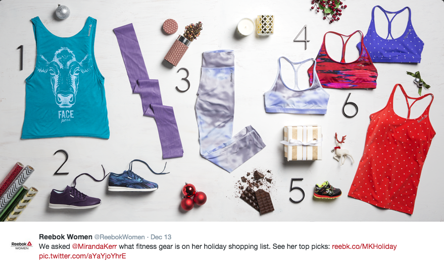 The holidays may be over, but these fabulous #Reebok goodies are always a great choice for the yoga-lover in your life!