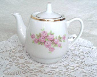 Unique retro teapot related items | Etsy
