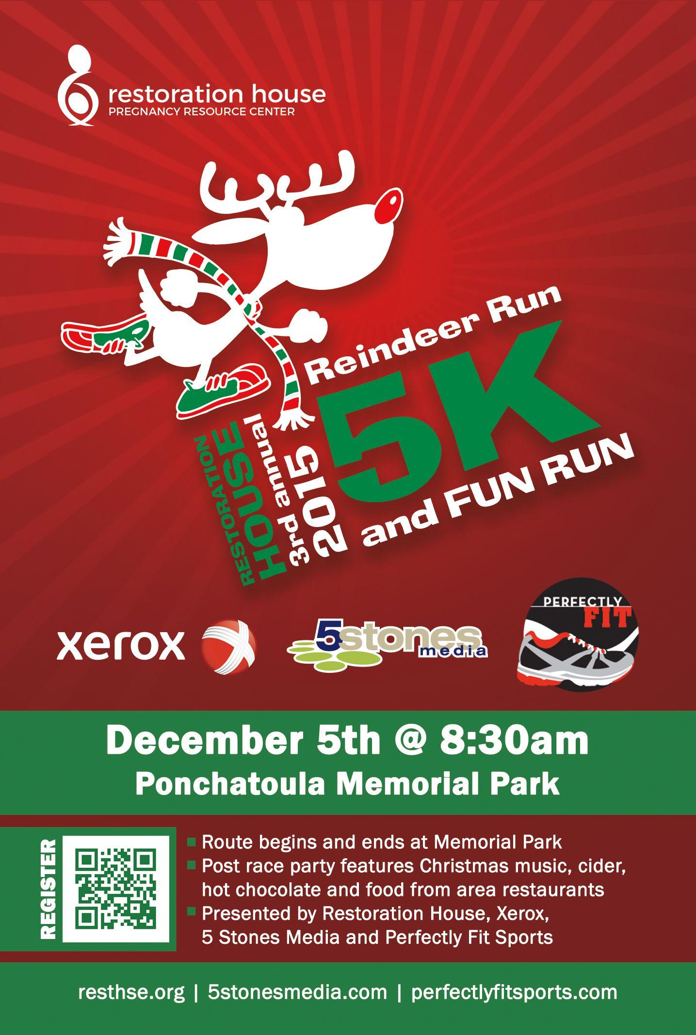 Reindeer Run 2015 Reindeer Run Reindeer Race Party