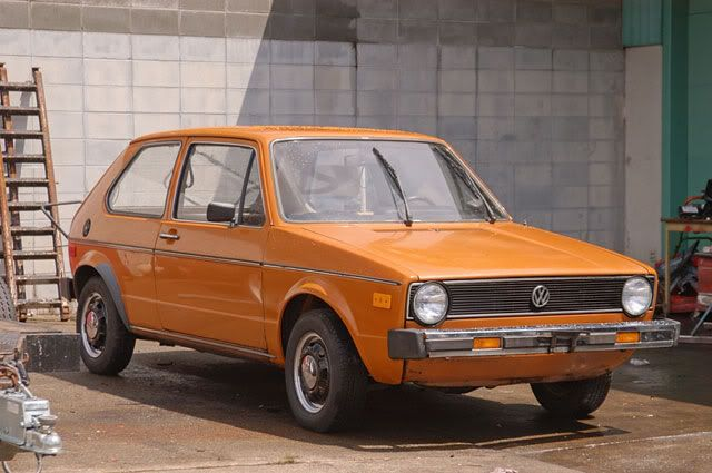 Orange 1977 Vw Rabbit My First Car Same Color And Everything