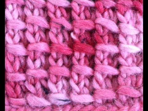 How To Knit The Wrapped Stitch This Video Shows Only Row 2 Of The