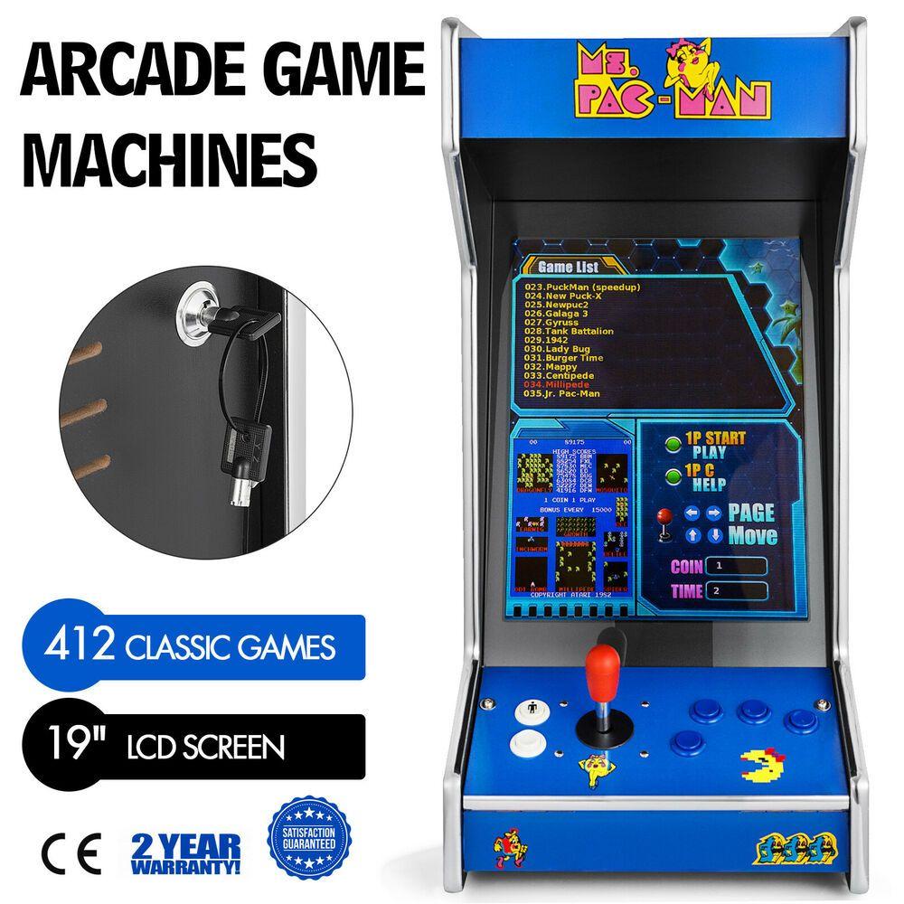 eBay Sponsored 412 Games in 1 Tabletop/ Bartop Arcade