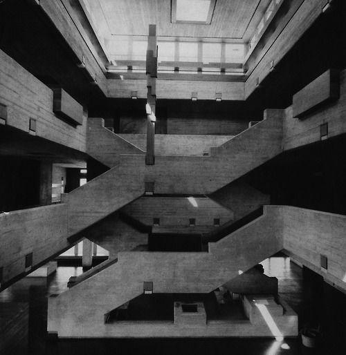 fuckyeahbrutalism:  Elementary School, Aesch, Switzerland, 1963 (Förderer, Otto, Zwimpfer)