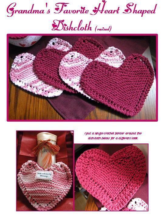 Grandmas Favorite Heart Shaped Cloth Heart Shapes Shapes And