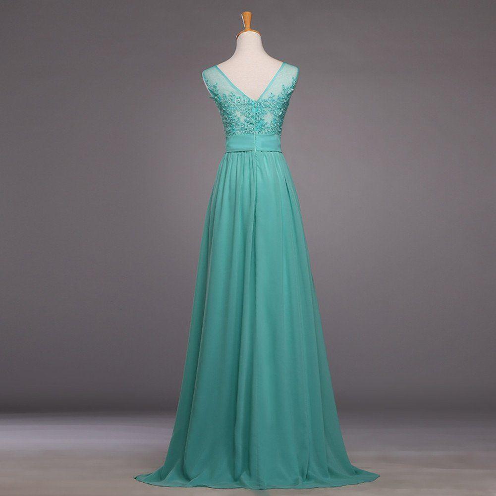 Aladdin Vintage Prom Dresses 2015 Long Chiffon Dress for Juniors ...