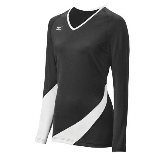 Mizuno Classic Carmel Long Sleeve Volleyball Jersey Volleyball Jerseys Long Sleeve Jersey Long Sleeve Tshirt Men