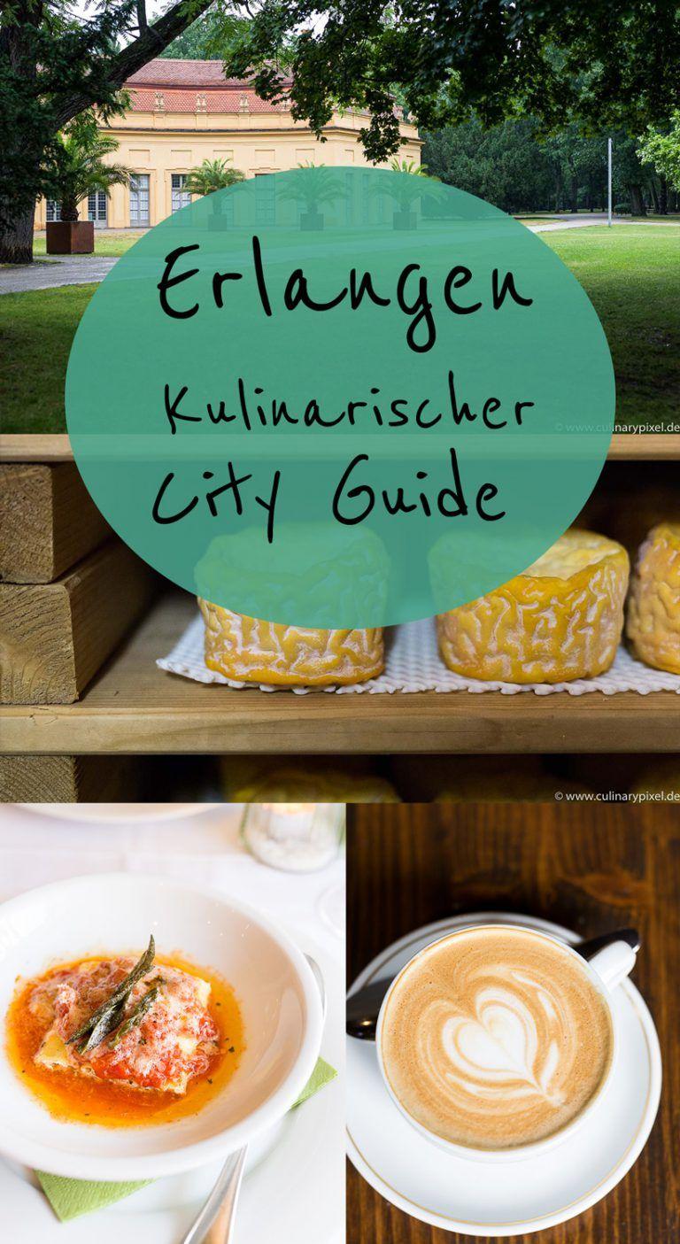 Erlangen Karte Deutschland.Erlangen Kulinarischer City Guide Mit Vielen Empfehlungen