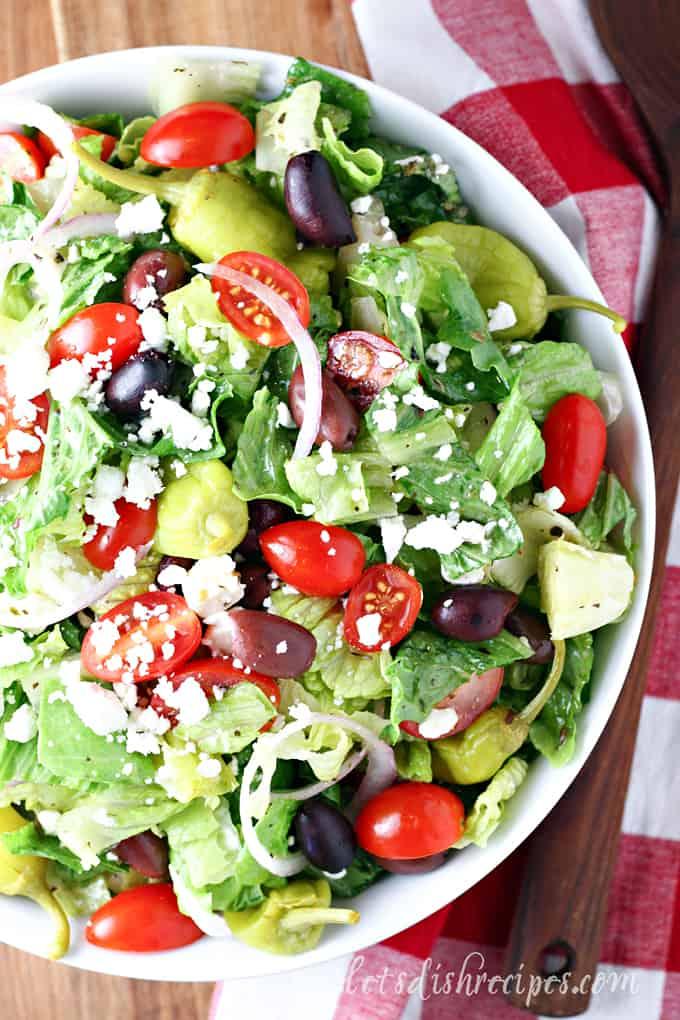 Greek Salad Recipe Panera