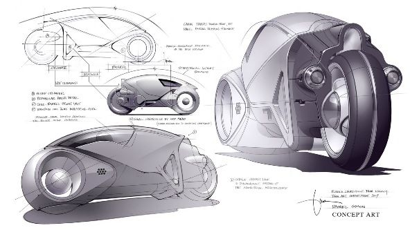 Light Cycle 2nd Generation Tron Legacy Light Cycle Tron