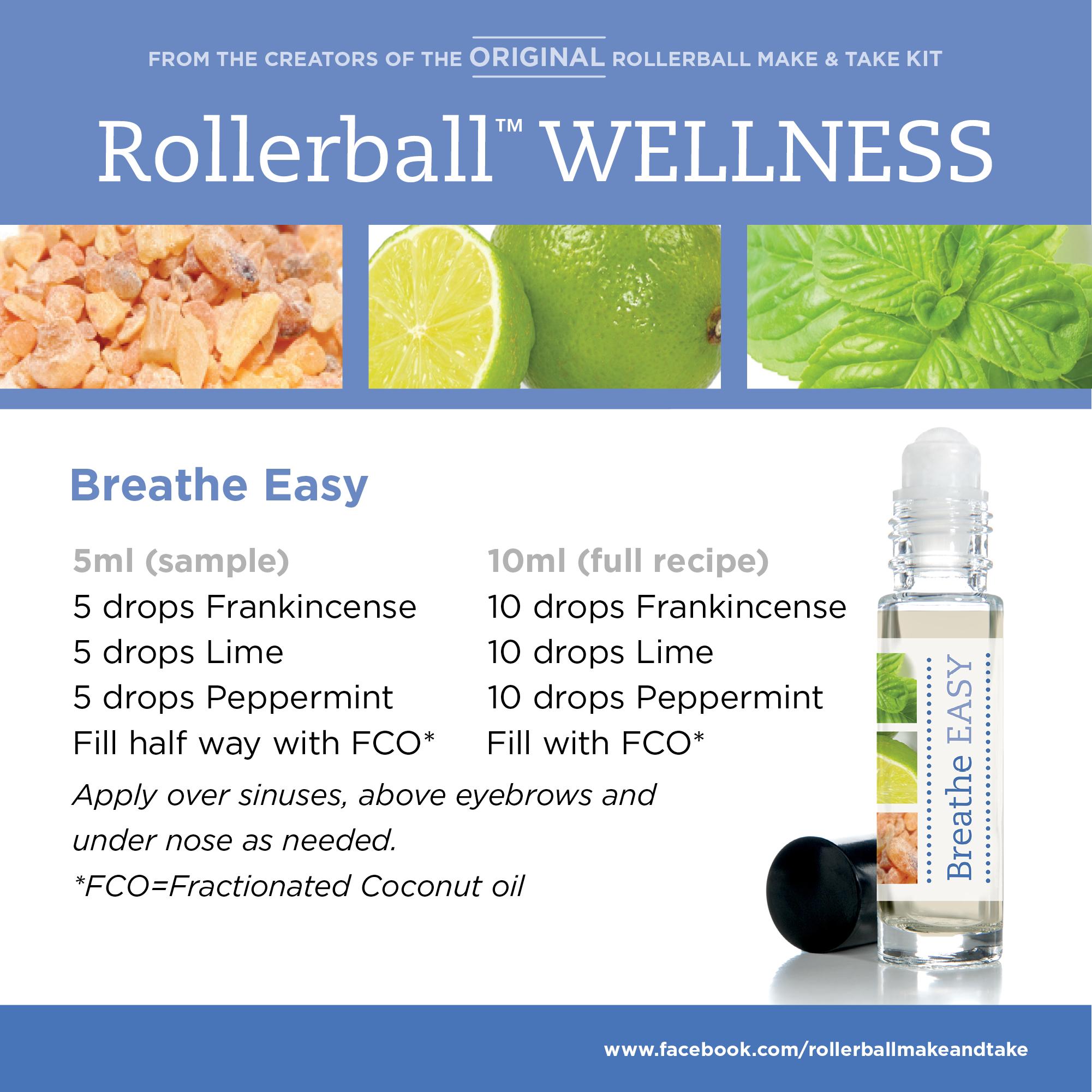 Breathe Easy Rollerball Wellness Make Amp Take Workshop