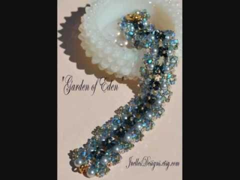 Free Crystal Bead Jewelry Tutorials - http://www.guidetobeadwork.com/wp/2013/02/free-crystal-bead-jewelry-tutorials-2/
