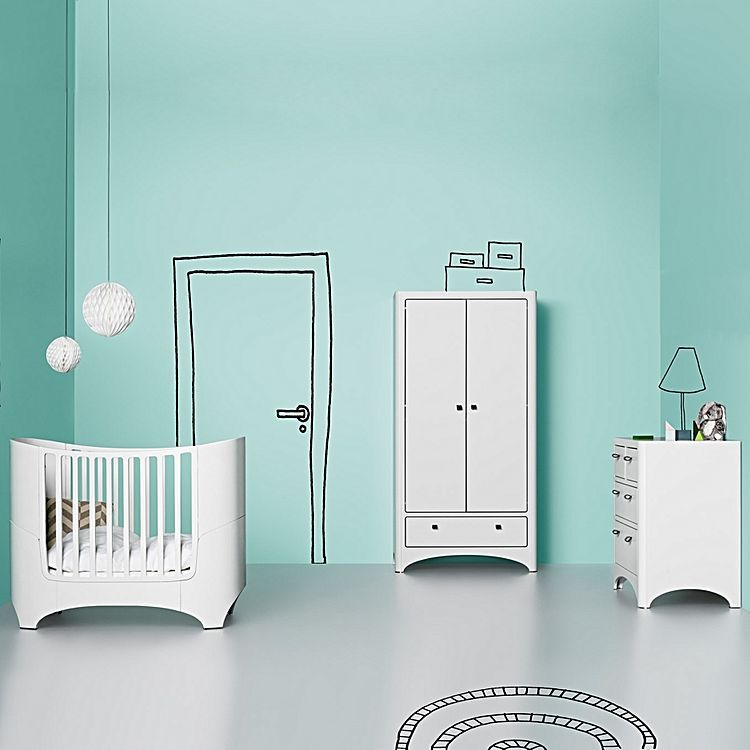 Celebrate The Award Winning Sophistication Of Scandinavian Craftsmanship  With The Leander Cot From Leander,
