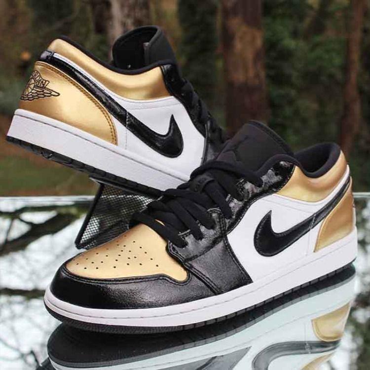 Air Jordan 1 Low Gold Toe en 2020