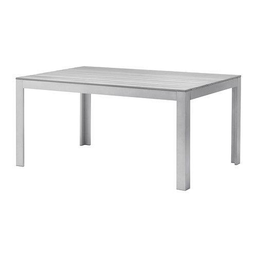 Ikea Falster Tisch Aussen Grau Die Streben Aus Polystyrol Sind