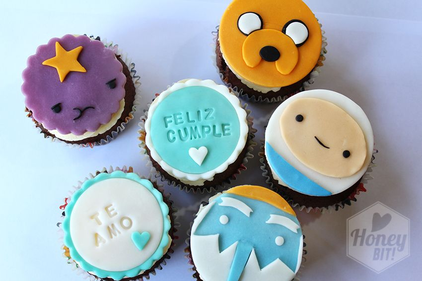 Adventure time cupcake #cupcakes #valparaiso #chile #cumpleaños