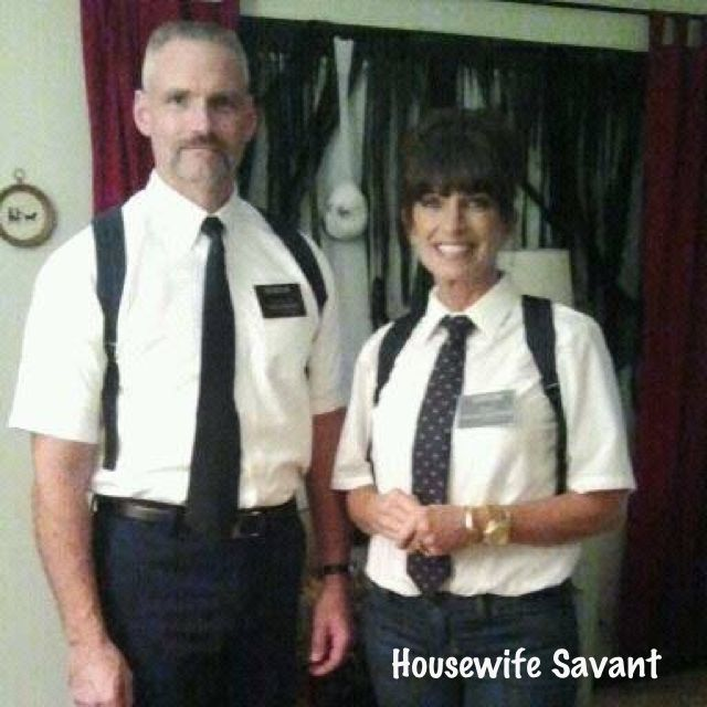 mormon costumes lds halloween couple couples costume tongue in cheek funny - Mormon Halloween Costumes