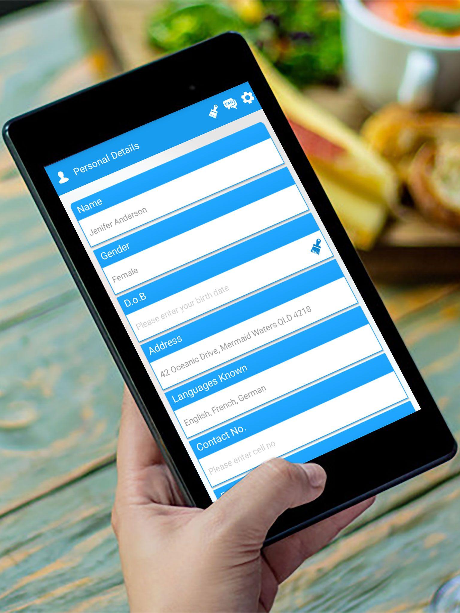 Resume Maker Admob and Facebook Integration in 2020