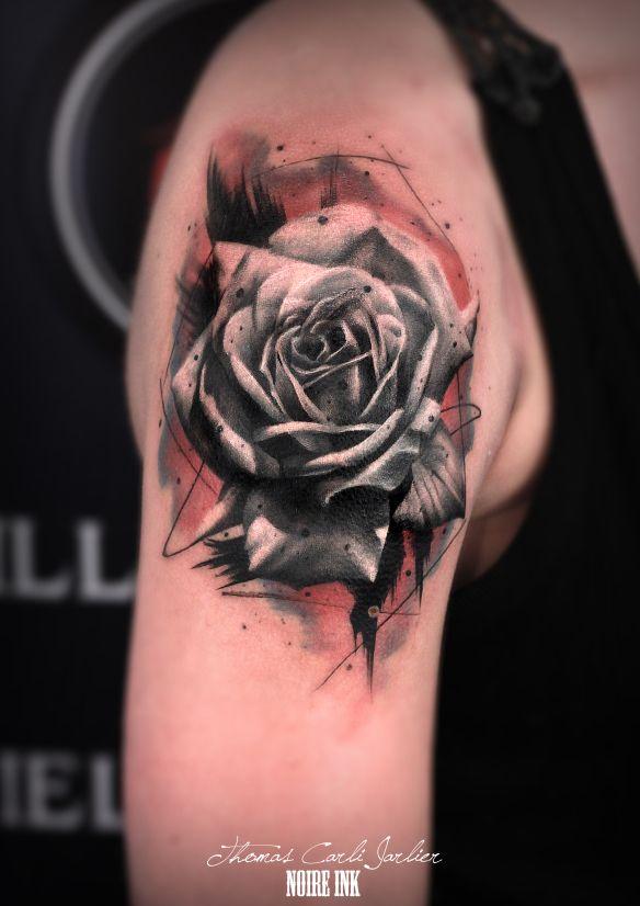 by thomas carli jarlier at noire ink coming soon pinterest minuscules tatouages de fleurs. Black Bedroom Furniture Sets. Home Design Ideas