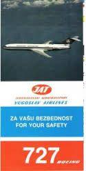 Risultati immagini per jat jugoslovenski aerotransport