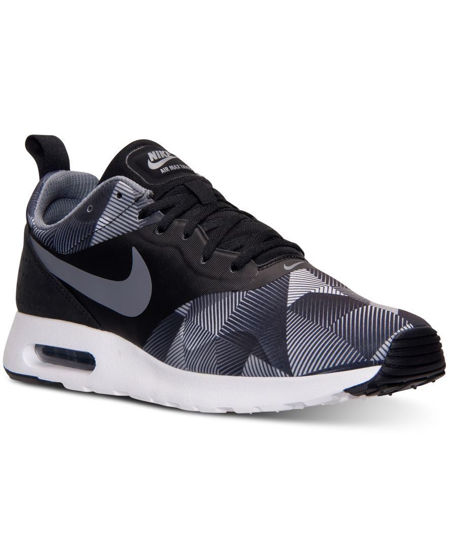 Nike Men's Air Max Tavas Print Running Sneakers from Finish Line