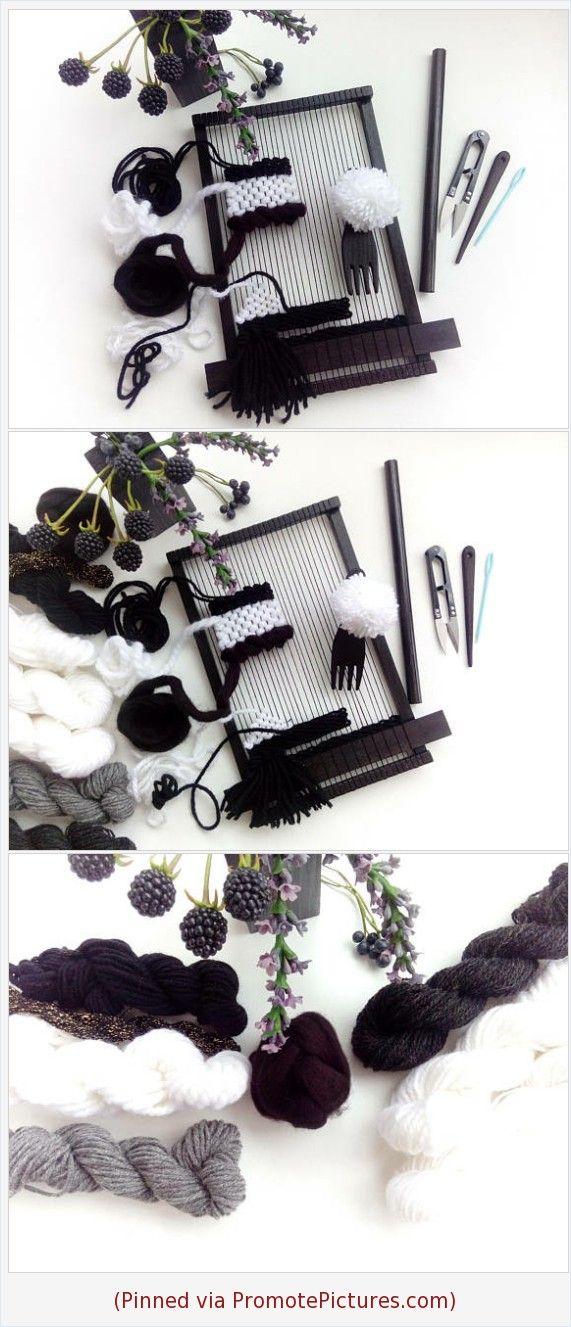 Tapestry Loom Kit For Beginner Weaving Loom Kit DIY Kits For Adults ...