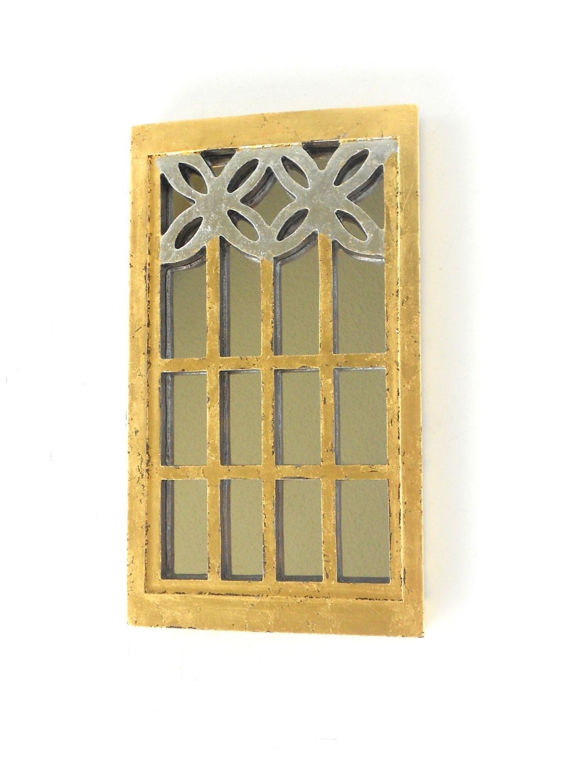 Old Fashioned Narrow Wall Mirror Decorative Collection - Wall Art ...