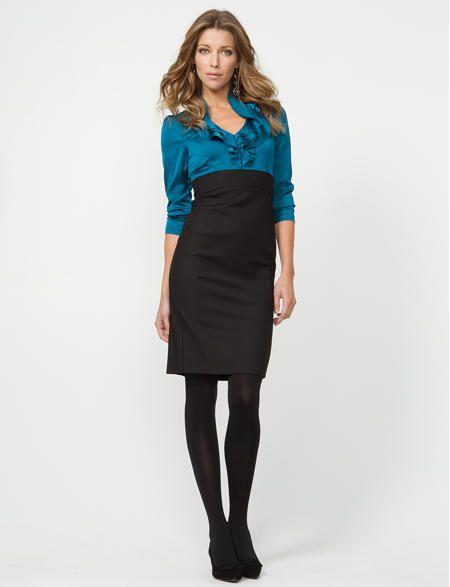 Le Chateau: Silk Hand Fooler Dress $99.99 | Dresses | Pinterest