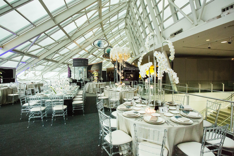 Chicago Adler wedding decorations Wedding