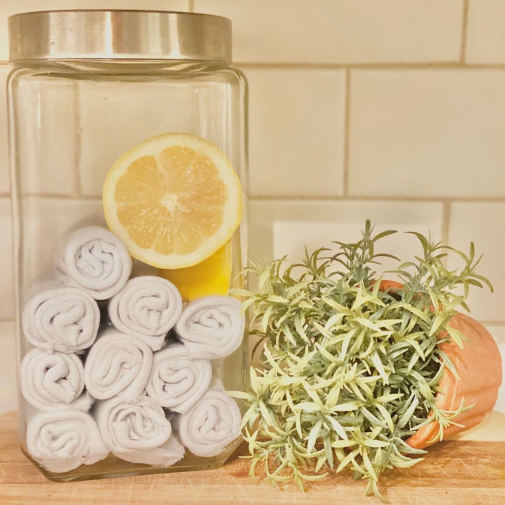 How to Make DIY Lysol Wipes Organic cleaning products