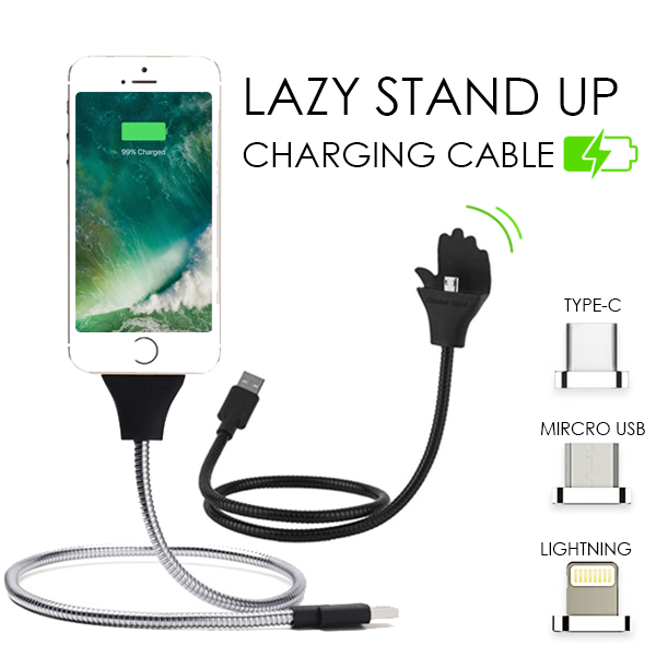 Lazy Stand Up Charging Cable – esfranki